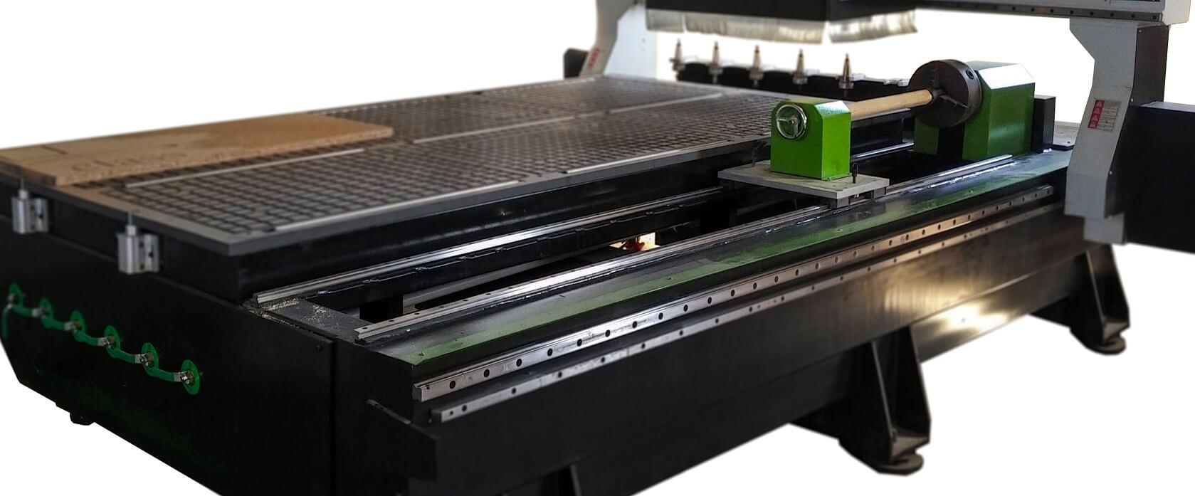 Router CNC Seria Pro +4 3