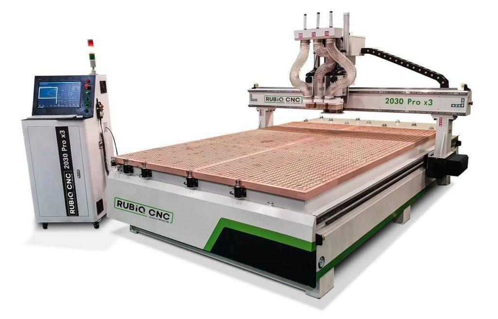 Router CNC 2030 Pro x3 RUBIQ